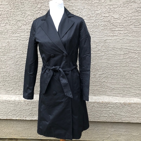 b26538a233ee Moschino Jackets & Coats   Jeans Donna Italian Blk Raincoat   Poshmark